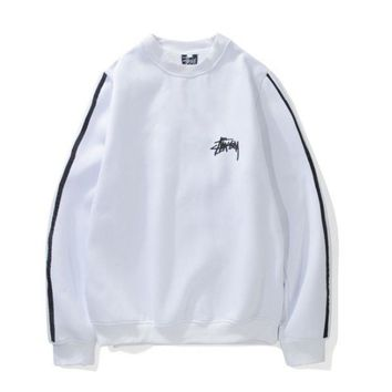 PEAPDQ7 Unisex Lovers' Stussy Sweater Pullovers