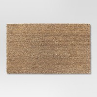 "Beige Solid Doormat 1'6""x2'6"" - Room Essentials™"