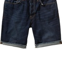 "Men's Cuffed Denim Shorts (7 1/2"")"