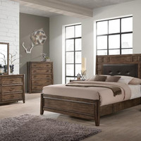 Englewood Antique Oak King Bedroom Set