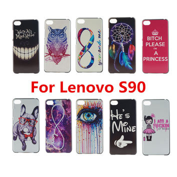 New Fashion Perfect Design Printed Case For Lenovo S90 Phone Case For Lenovo S 90 Back Cover
