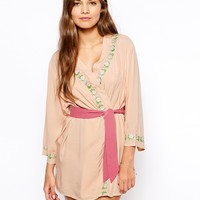 ASOS Elise Embroidered Robe -