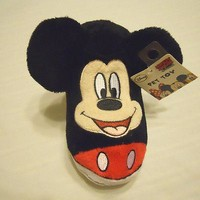 Disney Dog Toy Mickey Squeaky Chew Toy Shoe