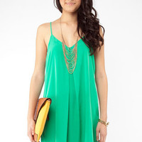 Strap In Tunic in Green :: tobi