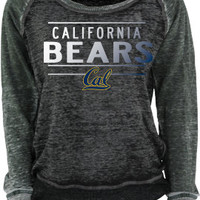 University of California Berkeley Golden Bears Women's Burnout Crewneck Sweatshirt