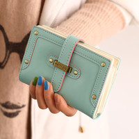 New Cartoon Lady Wallet Clutch Bag