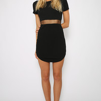 Hold Me Now Dress - Black