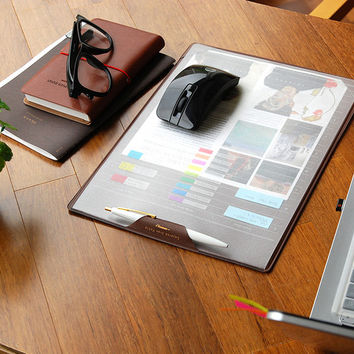 Mini Leather Desk Pad