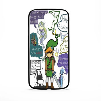Zelda Art Samsung Galaxy S4 Case