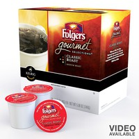 Keurig K-Cup Pod Folgers Classic Medium Roast Coffee - 18-pk.