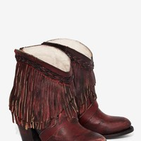 Freebird x Steven Tonto Leather Fringe Boot