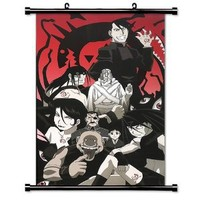 "Fullmetal Alchemist Anime Fabric Wall Scroll Poster (32"" X 51"") Inches"