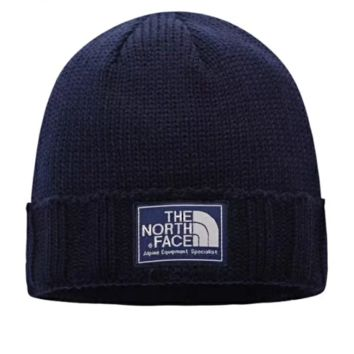 The North Face Autumn And Winter Fashion New Thick Keep Warm Knit Women Men Cap