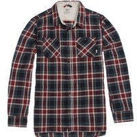 Vans Birch Long Sleeve Woven Shirt - Mens Shirts - Black