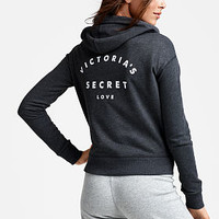 Boxy Zip Hoodie - Fleece - Victoria's Secret