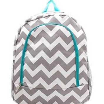Chevron Print Backpack - 2 Color Choices
