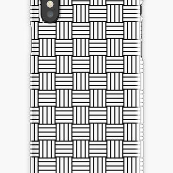 'YOUR bASIC wEAVE' iPhone Case/Skin by derpfudge