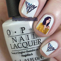 Katy Perry Prism Nail Decals