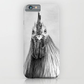 Stag Party Black And White iPhone & iPod Case by Linsey Williams Photography