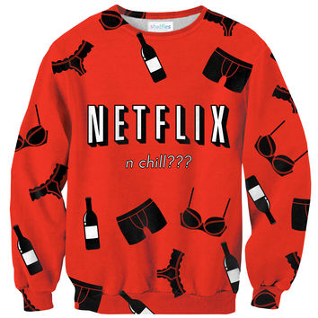 Netflix N Chill Sweater