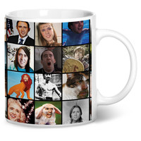 Nicolas Cage Rage Faces Coffee Mug