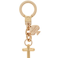 Kate Spade Kate Spade Key Fobs Anchor Keychain Gold ONE