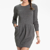 BP. Marled Stripe Tulip Dress (Juniors) | Nordstrom