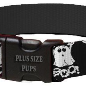 Halloween Dog Collar - Boo Ghost