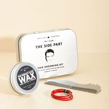 Coiff It Up Side Part Grooming Kit | Mod Retro Vintage Keychains | ModCloth.com