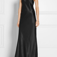 Calvin Klein Collection - Silk-satin gown