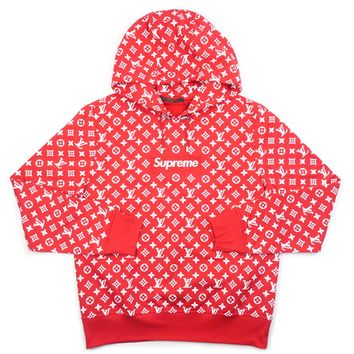 """LIMITED EDITION"" SUPREME X LV COLLAB HOODIE"
