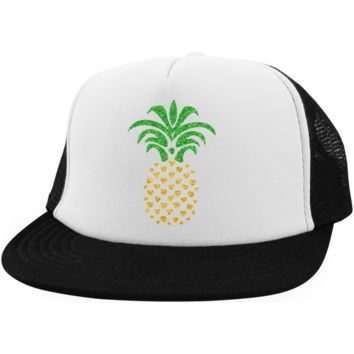 Pineapple Hearts Trucker Hat