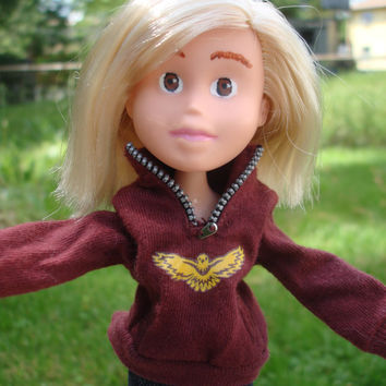 Made Under Rescued Bratz Upcycled Doll Repainted OOAK
