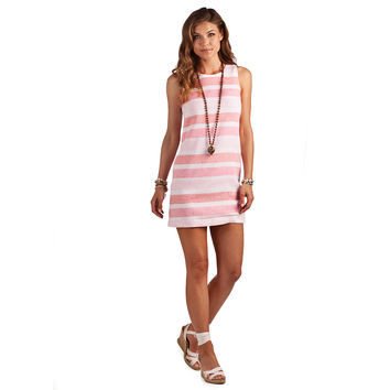 Classic Shift Dress in Pink Sands by Island Company