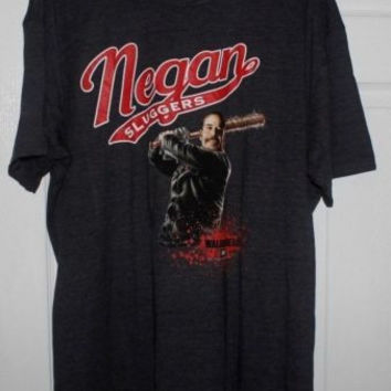 The Walking Dead Negan Sluggers T-Shirt XL New Loot Crate Exclusive