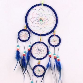 Dreamcatchers Nylon Feather Native American Indian Kids Room Decor Crafts Decal Hot Sale
