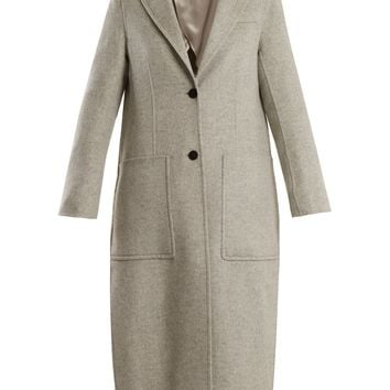 Marvil single-breasted wool and silk-blend coat | Joseph | MATCHESFASHION.COM US