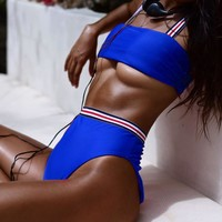Sporty High Waist Bikini