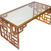 Page Cocktail Table, Coffee Table Base, Sofa Table
