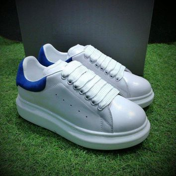 DCC3W Alexander McQueen Sole Sneakers White / Blue