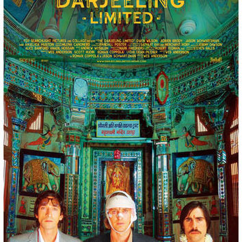 Darjeeling Limited Movie Poster 11x17
