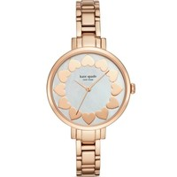 kate spade new york Gramercy Hearts Dial Watch, 34mm | Bloomingdales's