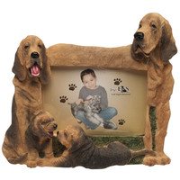 Bloodhound Hound Family Large Picture Frame