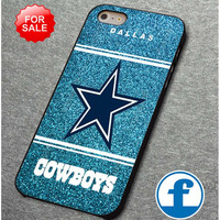 NFL Dallas Cowboys Blue Glitter Sparkle for iphone, ipod, samsung galaxy, HTC and Nexus Case