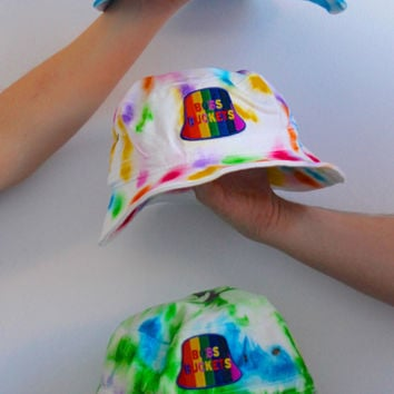 Custom Unisex Tie Dye Bucket Hat