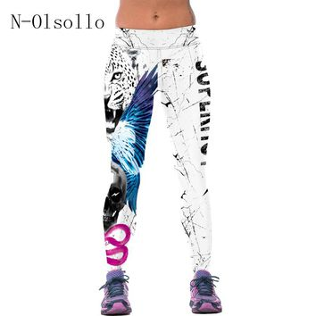 2016 Sexy Womens Sporting Leggings For Runs Pants Fitness Jeggings Gymnast Clothes for Women Elastic leggins Bodybuilding Capris