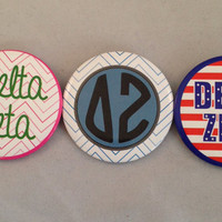 Delta Zeta 2-inch Button Variety Pack (3 Buttons)