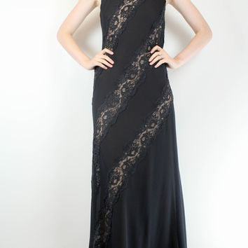 Chetta B. Illusion Evening Dress