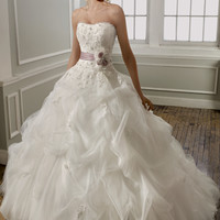 Mori Lee 1667 Pick Up Skirt Wedding Dress