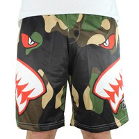 Fierce Camo Lacrosse Shorts | Lacrosse Unlimited